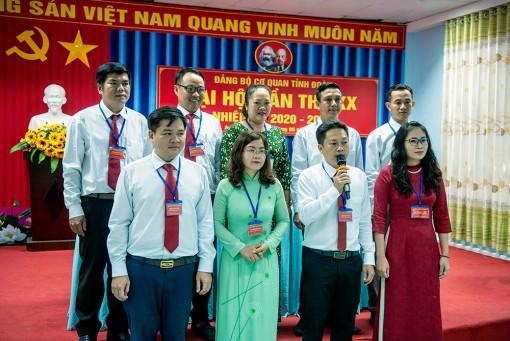 Đại hội Đảng bộ cơ quan Tỉnh đoàn An Giang lần thứ XX (nhiệm kỳ 2020- 2025)