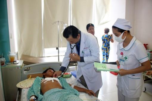 Bệnh viện Đa khoa trung tâm An Giang cứu sống bệnh nhân bị đâm thủng tim