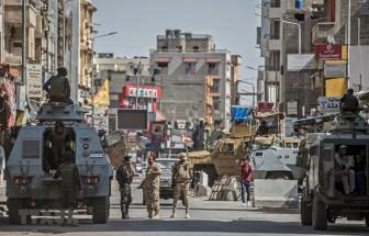Ai Cập tiêu diệt nhiều phần tử khủng bố cực đoan ở Sinai