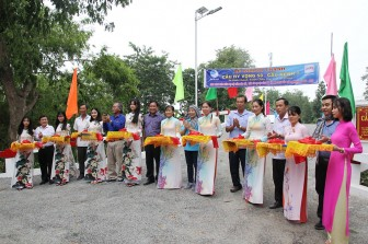 Khánh thành 2 cây cầu Hy vọng tại Châu Phú