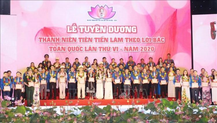 Lễ tuyên dương Thanh niên tiên tiến làm theo lời Bác toàn quốc lần thứ VI - năm 2020