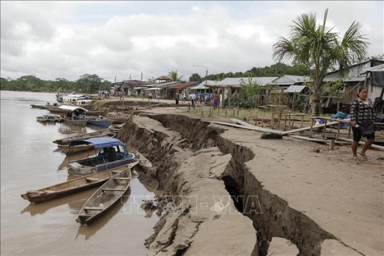 Động đất mạnh tại Peru