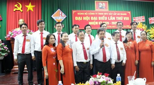 Đồng chí Phan Văn Nhàn tái đắc cử Bí thư Đảng ủy Công ty TNHH MTV Xây lắp An Giang