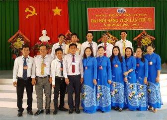 Đồng chí Trần Thị Thanh Tuyền tái đắc cử Bí thư Đảng ủy xã Tân Tuyến (nhiệm kỳ 2020-2025)