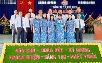 Đại hội đại biểu xã Phú Bình (nhiệm kỳ 2020-2025)