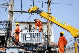 Điện lực Châu Đốc nỗ lực cung cấp điện mùa khô