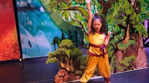50 tài năng múa nhí tham gia 'Chiến dịch giải cứu trái đất'