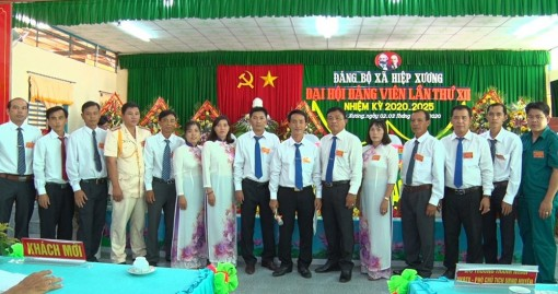Đại hội đại biểu xã Hiệp Xương lần thứ XII (nhiệm kỳ 2020 - 2025) thành công tốt đẹp