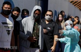 Brazil ghi nhận số ca tử vong trong ngày do COVID-19 cao kỷ lục