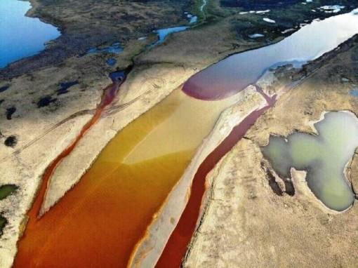 Nga nỗ lực xử lý hậu quả vụ rò rỉ dầu ở Krasnoyarsk