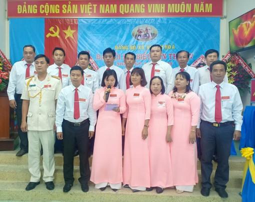 Đại hội đại biểu Đảng bộ xã Khánh Hòa (nhiệm kỳ 2020 - 2025)