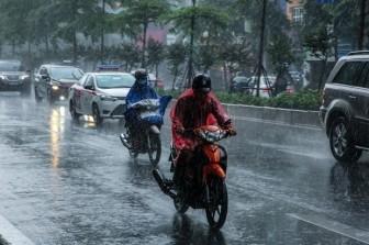 Chiều tối và đêm 6-6, các khu vực trong cả nước đều có mưa dông
