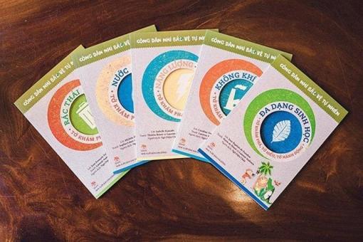 Ra mắt bộ sách về môi trường dành cho trẻ em