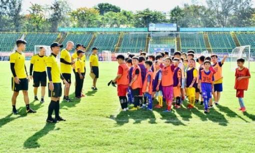Học viện bóng đá Juventus Việt Nam: Ngày 6 - 7-6 tuyển sinh tại ĐBSCL