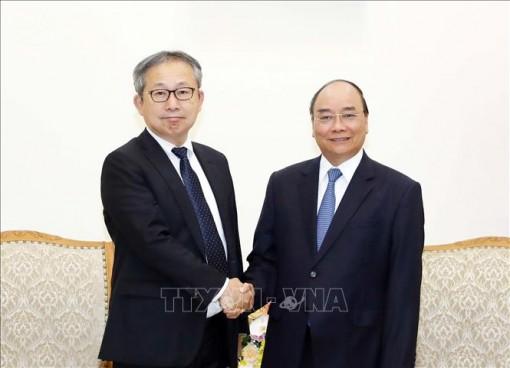 Thủ tướng Nguyễn Xuân Phúc tiếp tân Đại sứ Nhật Bản tại Việt Nam