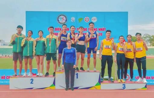An Giang đoạt 6 huy chương vàng Cúp điền kinh tốc độ Thống Nhất năm 2020
