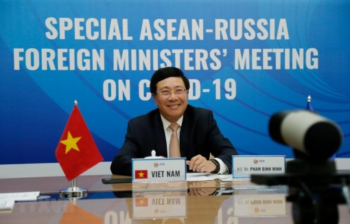 Hội nghị Đặc biệt Bộ trưởng Ngoại giao ASEAN-Nga về ứng phó COVID-19