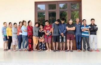 Tây Ninh triệt phá đường dây ghi số đề và cho vay lãi nặng
