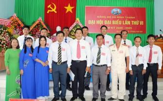 Đồng chí Mai Hòa Phúc tái đắc cử Bí thư Đảng ủy xã Bình Thạnh nhiệm kỳ 2020 – 2025