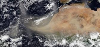 Cảnh báo mây bụi khổng lồ từ sa mạc Sahara tấn công khu vực Trung Mỹ