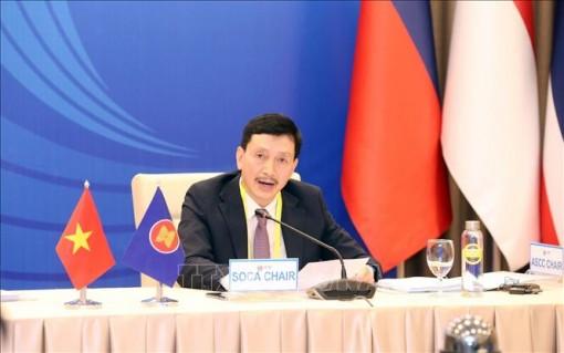 Hội nghị trực tuyến Quan chức Cấp cao phụ trách Cộng đồng Văn hóa - Xã hội ASEAN