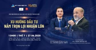 Sự kiện hội thảo Bất động sản lớn nhất từ trước đến nay tại Cần Thơ và ĐBSCL với diễn giả - Giáo sư Đặng Hùng Võ
