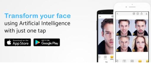 Cẩn thận khi sử dụng app ứng dụng chỉnh sửa khuôn mặt