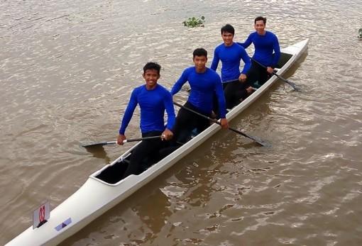 Canoeing Bạc Liêu dần khẳng định sức mạnh