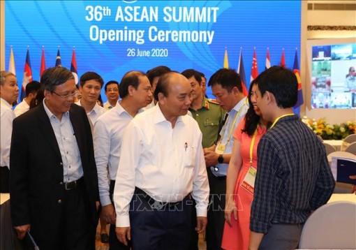 Thủ tướng Nguyễn Xuân Phúc chủ trì Hội nghị Cấp cao ASEAN lần thứ 36