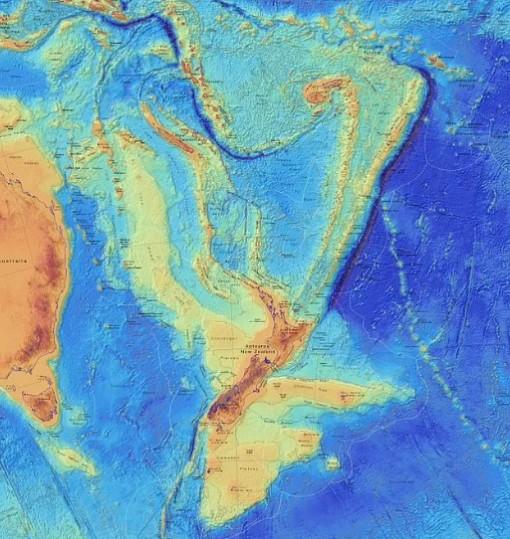 Đã tìm thấy lục địa thứ 8 của Trái Đất