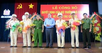 Đại tá Đinh Văn Nơi giữ chức vụ Giám đốc Công an tỉnh An Giang