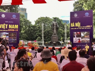 Triển lãm ảnh Việt Nam phòng, chống dịch COVID-19