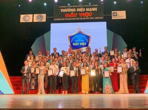 Tôn vinh Thương hiệu mạnh đất Việt lần thứ V năm 2020