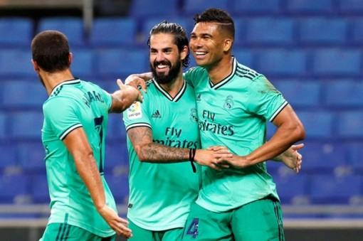 Đánh bại Espanyol, Real Madrid đòi lại ngôi đầu từ tay Barcelona
