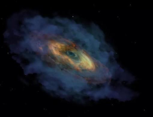 """""""Siêu quái vật vũ trụ"""" có trái tim lớn gấp 1,5 tỉ Mặt Trời"""