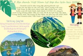 5 địa danh Việt Nam lọt top du lịch bụi năm 2020