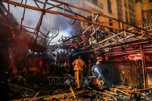 Nổ lớn gây thương vong ở thủ đô Tehran