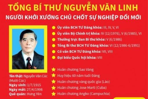 Tổng Bí thư Nguyễn Văn Linh: Người khởi xướng chủ chốt sự nghiệp đổi mới