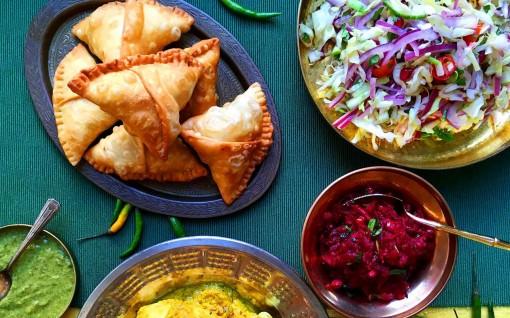 Tiệc nhẹ kiểu Á Đông, hương vị quen mà lạ