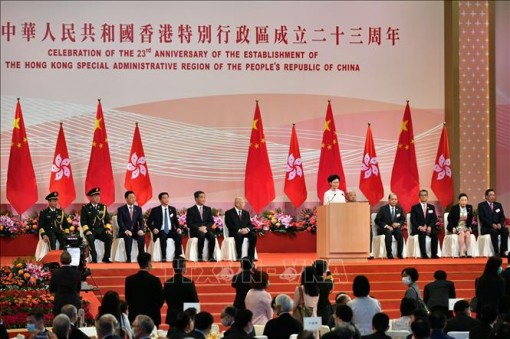 Kỷ niệm 23 năm ngày Anh trao trả Hong Kong về với Trung Quốc