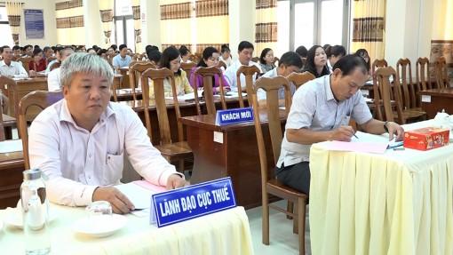 Cục Thuế tỉnh An Giang đối thoại doanh nghiệp