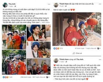 Cô dâu chú rể mặc cổ phục trong ngày cưới thu hút cộng đồng mạng