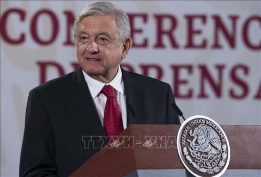 Tổng thống Mexico tiếp tục được người dân tín nhiệm