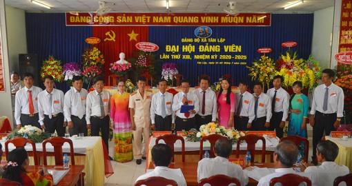 Đại hội đảng viên xã Tân Lập (nhiệm kỳ 2020-2025) thành công tốt đẹp