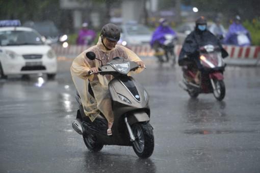 Thời tiết ngày 3-7: Nhiều khu vực trên cả nước có mưa và dông