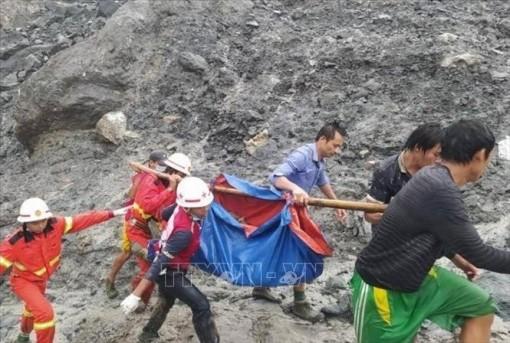 Trên 160 người thiệt mạng trong vụ lở đất ở Myanmar