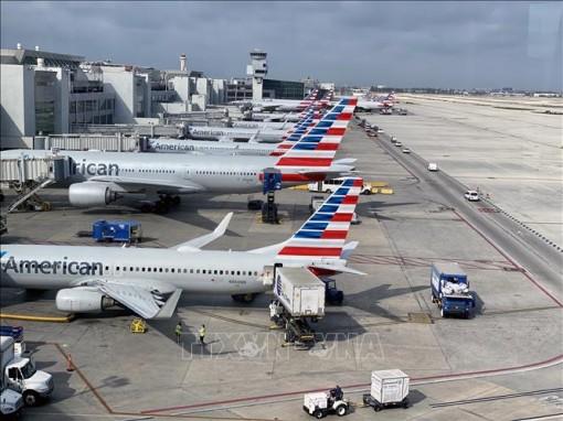 Bộ Tài chính Mỹ đạt thỏa thuận hỗ trợ 5 hãng hàng không lớn