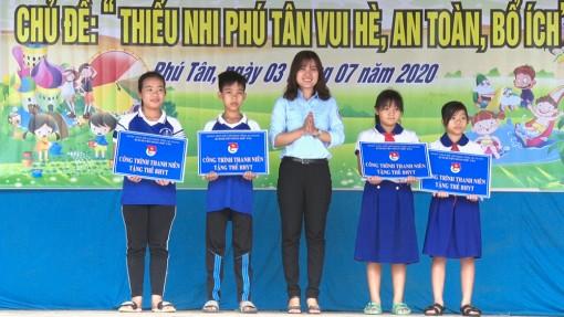 Phú Tân khai mạc Trại hè thiếu nhi năm 2020