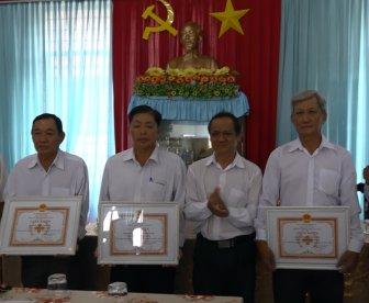 Hội Chữ thập đỏ huyện Châu Phú tổ chức Hội nghị điển hình tiên tiến