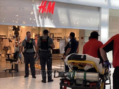 Nổ súng tại trung tâm mua sắm ở Mỹ, ít nhất 4 người phải nhập viện